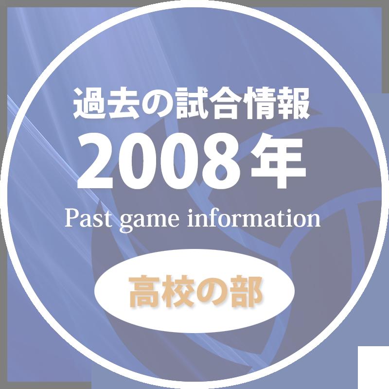 過去の試合情報2008年高校の部50%