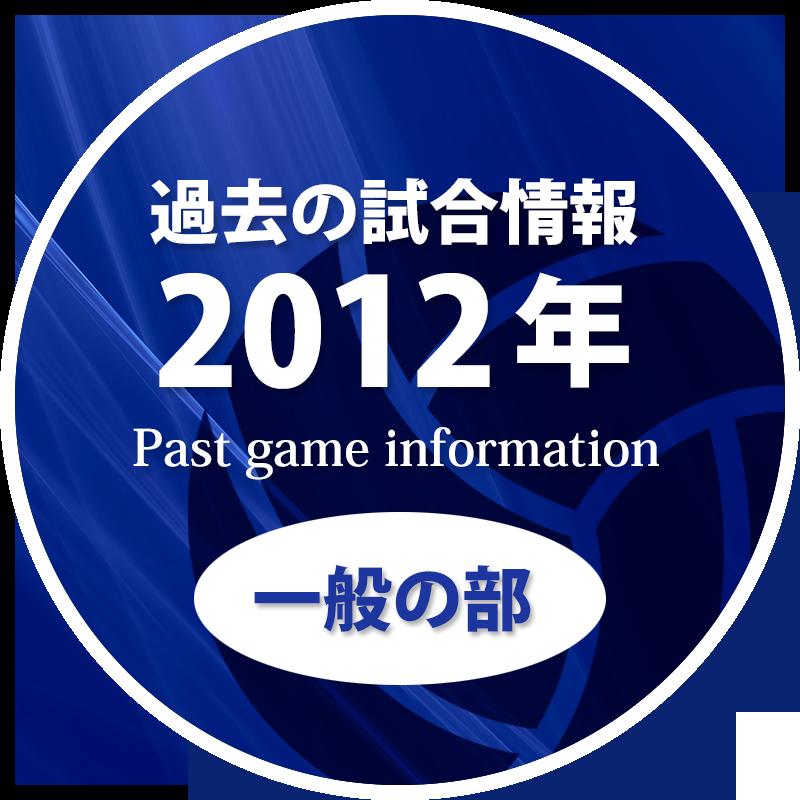 過去の試合情報2012年一般の部