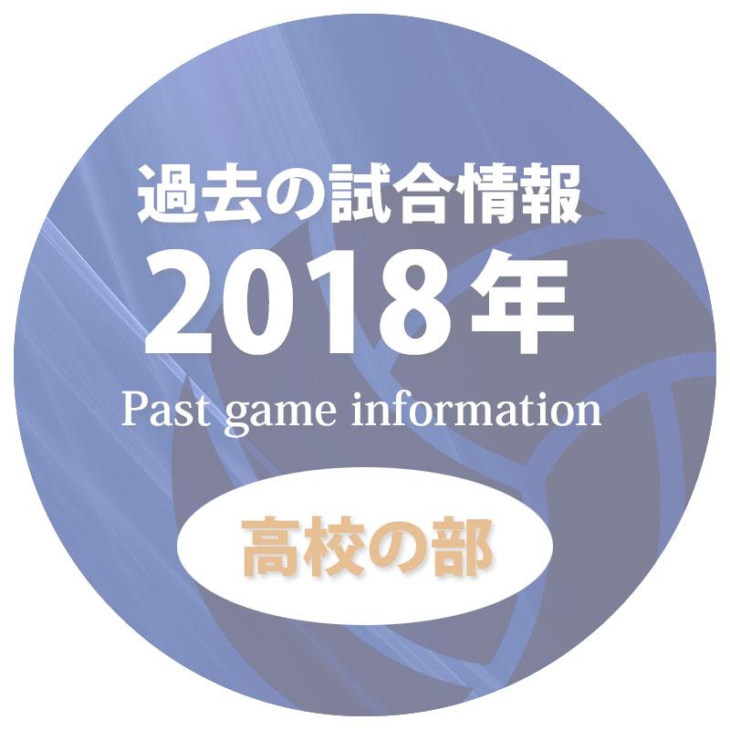 過去の試合情報2018年高校の部